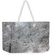 The Road To Winter Wonderland Weekender Tote Bag