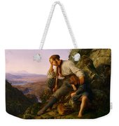 The Robber And His Child Weekender Tote Bag