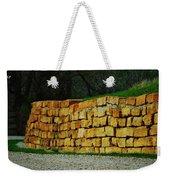 The Rock Wall Weekender Tote Bag