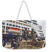 The Rock Ketchikan Alaska  Weekender Tote Bag