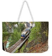 The Rocky Mountaineer Railroad Weekender Tote Bag