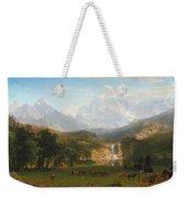 The Rocky Mountains Landers Peak Weekender Tote Bag