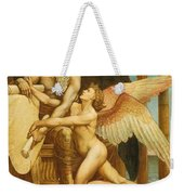 The Roll Of Fate Weekender Tote Bag by Walter Crane