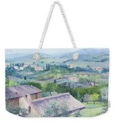 The Rolling Hills Of Tuscany Weekender Tote Bag