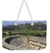 The Roman Theatre In Aspendos Antalya Turkey  Weekender Tote Bag