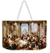 The Romans Of The Decadence Weekender Tote Bag