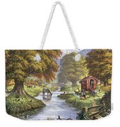 The Romany Camp Weekender Tote Bag