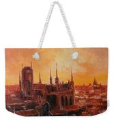 The Roofs Of Gdansk Weekender Tote Bag