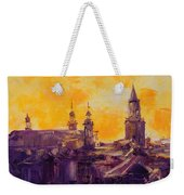 The Roofs Of Lublin Weekender Tote Bag