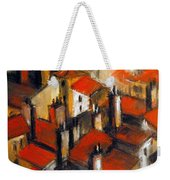 The Roofs Of Lyon Weekender Tote Bag