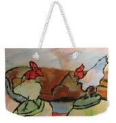 The Roosters Weekender Tote Bag