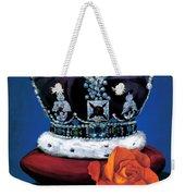 The Rose & Crown Weekender Tote Bag