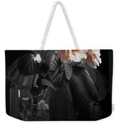 The Rose Grew Pale And Left Her Cheek Weekender Tote Bag