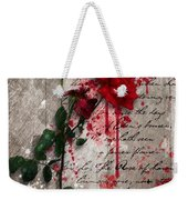 The Rose Of Sharon Weekender Tote Bag