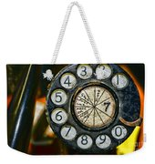 The Rotary Dial Weekender Tote Bag