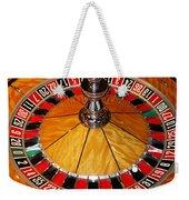 The Roulette Wheel Weekender Tote Bag