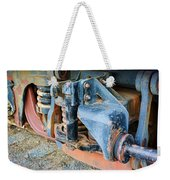 The Roundhouse Evanston Wyoming Dining Car - 4 Weekender Tote Bag