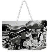The Royal Enfield Motorbike Weekender Tote Bag