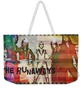 The Runaways - 1977 Weekender Tote Bag