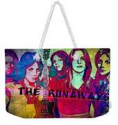 The Runaways - Up Close Weekender Tote Bag