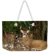 The Rutting Whitetail Buck Weekender Tote Bag