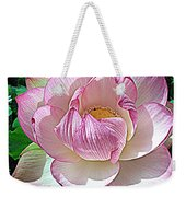 The Sacred Lotus  Weekender Tote Bag