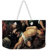 The Sacrifice Of Isaac Weekender Tote Bag