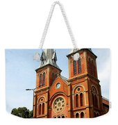 The Saigon Notre-dame Basilica Weekender Tote Bag