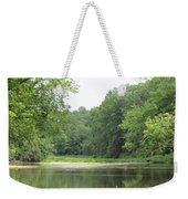 The Salt Fork River Weekender Tote Bag