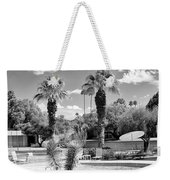 The Sandpiper Pool Bw Palm Desert Weekender Tote Bag by William Dey