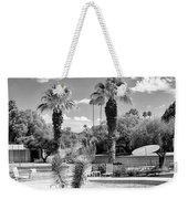 The Sandpiper Pool Bw Palm Desert Weekender Tote Bag