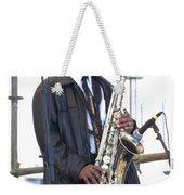 The Saxophone Player Weekender Tote Bag