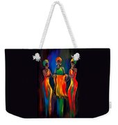 The Scarf Weekender Tote Bag