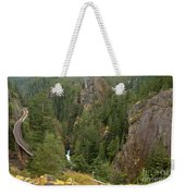 The Scenic Cheakamus River Gorge Weekender Tote Bag