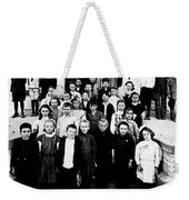The School Photo Weekender Tote Bag