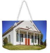 The Schoolhouse Weekender Tote Bag