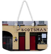 The Scottsmans Bar - Donegal Ireland Weekender Tote Bag