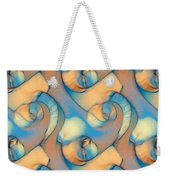 The Sea And The Sand Abstract Weekender Tote Bag