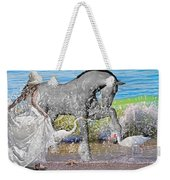 The Sea Horse Weekender Tote Bag