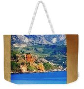 The Sea Through The Portico Weekender Tote Bag