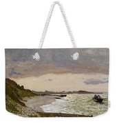 The Seashore At Sainte Adresse Weekender Tote Bag