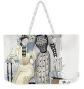 The Season, Fashion Plate For The Weekender Tote Bag