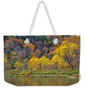 The Season Of Yellow Leaves Weekender Tote Bag