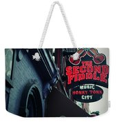 The Second Fiddle Weekender Tote Bag