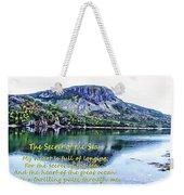 The Secret Of The Sea Weekender Tote Bag