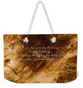 The Serenity Prayer 1 Weekender Tote Bag