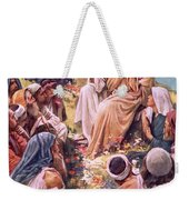 The Sermon On The Mount Weekender Tote Bag