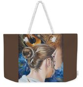The Seven Spirits Series - The Spirit Of Counsel Weekender Tote Bag