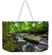 The Shankhill River Shortly Weekender Tote Bag