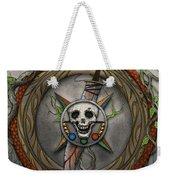 The Shattered Skull Weekender Tote Bag